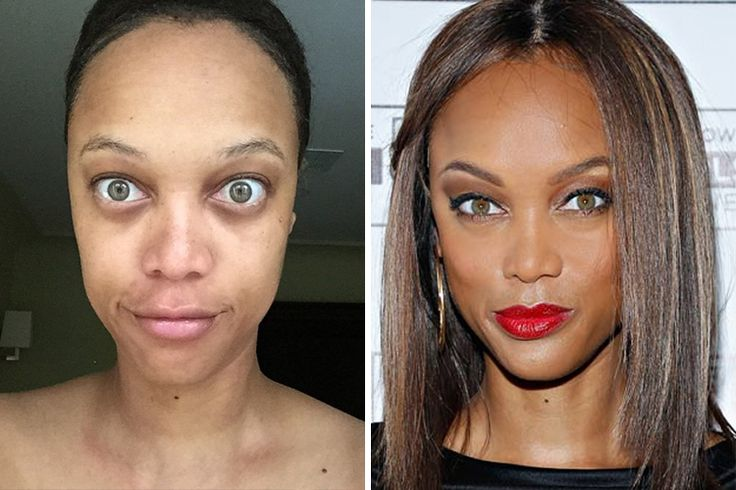 TYRA BANKS: Tyra's a supermodel and a former Victoria's Secret Angel, and she's the epitome of a cool and confident woman…especially when she has her game face on.