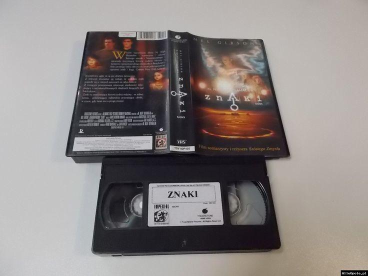 ZNAKI - VHS Kaseta Video - Opole 1718 (Opole) http://www.alleopole.pl/