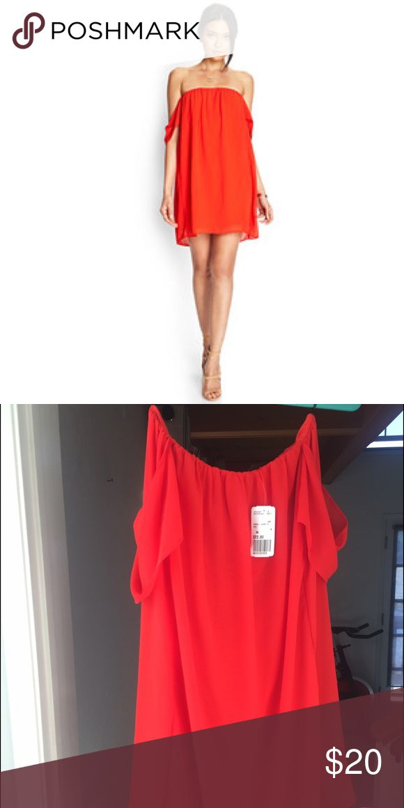 Red summer dress forever 21 5 avenue