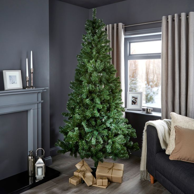 7ft Woodland Classic Christmas Tree | Departments | DIY at B&Q