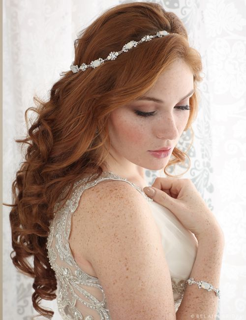 Best 20 halo headband ideas on pinterest wedding hair for Bel aire bridal jewelry