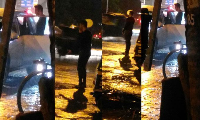 Shocking! Did Karishma Tanna and Upen Patel have an ugly fight on a street?