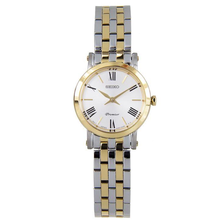Chronograph-Divers.com - Seiko Premier Quartz Two Tone Dress Watch SWR026 SWR026P1, $288.00 (https://www.chronograph-divers.com/seiko-premier-quartz-two-tone-dress-watch-swr026-swr026p1/)
