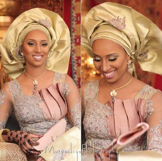 Ankara Styles 127 Show Down: African Bridal Outfits, Hausa Style! See Beautiful