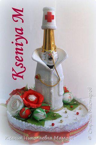 Свит-дизайн Моделирование конструирование Подарок медицинскому работнику Бумага гофрированная фото 1