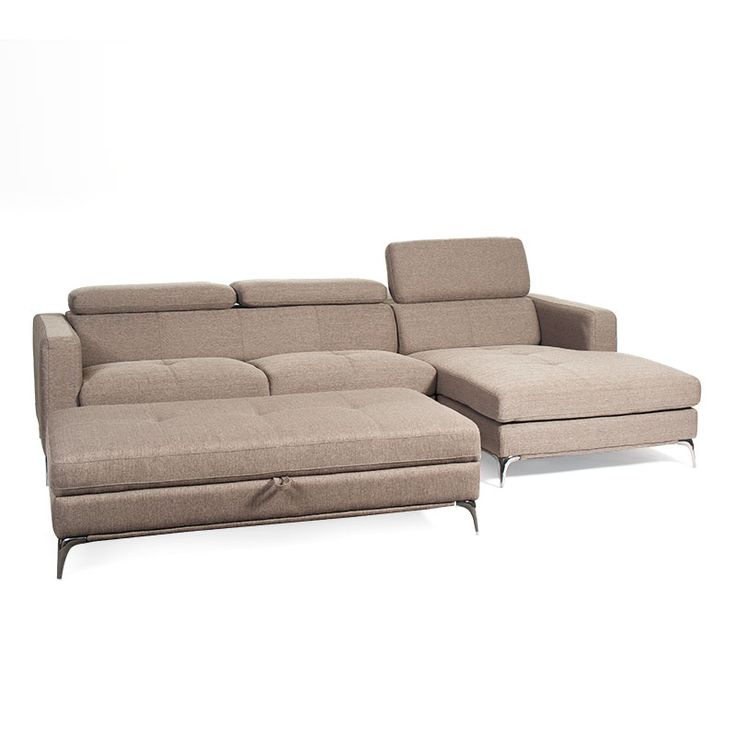 Cosmo 3 Seater Chaise & FREE Ottoman
