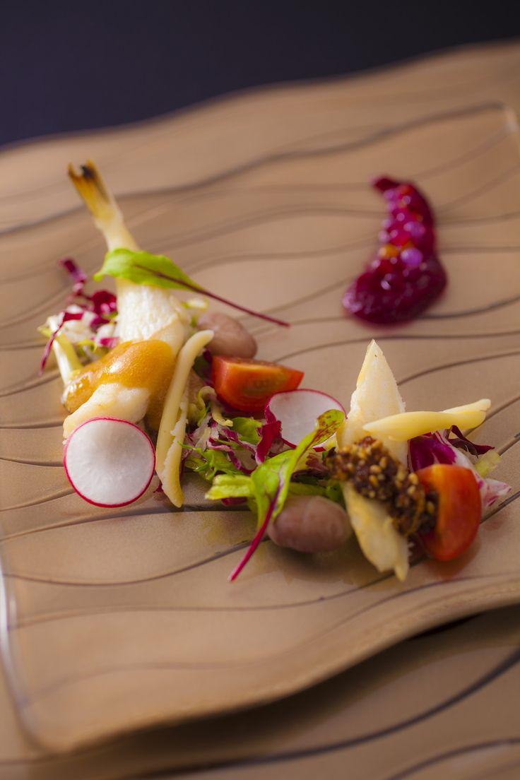 【蓼科キュイジーヌ お料理一例】年4回季節ごとに変わるメニューはリピーターも多い
