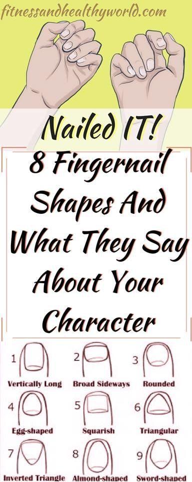 #fingernail #shape #health #character #personality