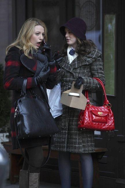 brown. Serena's coat is really cute too.