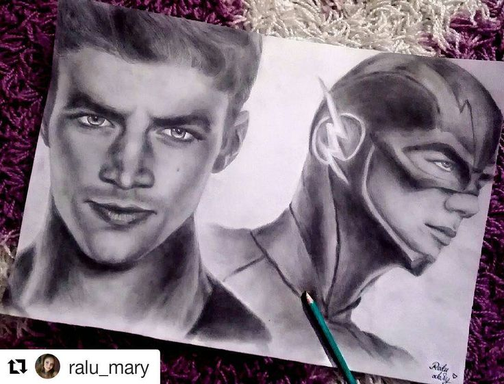 Amazing  #Repost @ralu_mary with @repostapp ・・・ Hmm, who's here ?? I did this drawing of @grantgust and The Flash. Please tag him so maybe he will see it and tell me what you think, thank youuu !!! #grantgustin #grantgustindrawing  #theflash #theflashdrawing  #barryallen #cw #tomcavanagh #daniellepanabaker #carlosvaldes #candicepatton #thecw #iriswest #killerfrost #caitlinsnow #grantgust #caitlinandbarry #barryallentheflash