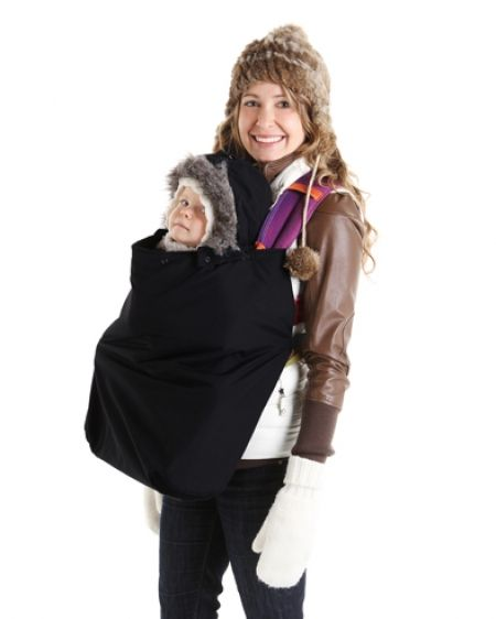 Baby Carrier Cover Babygloo+ Black