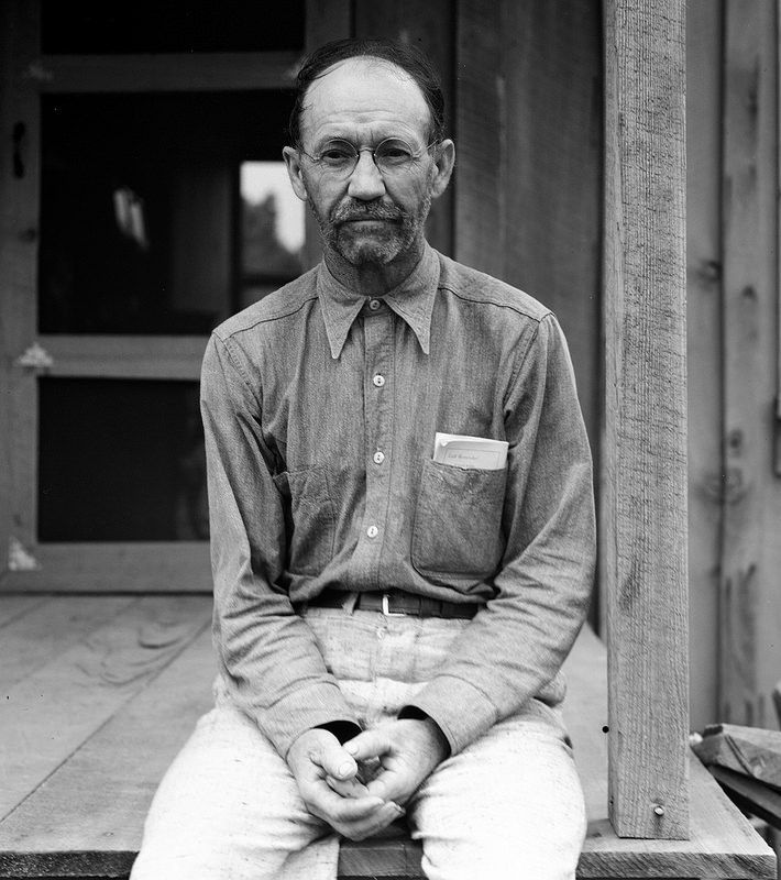Lange, Dorothea, photographer. President of the Southern Tenant Farmers Union at Hill House, Mississippi. July, 1936. | pinned by haw-creek.com