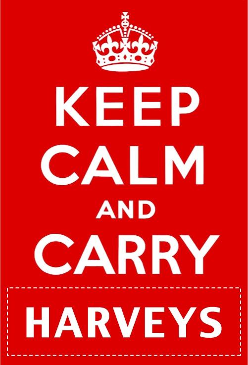 Keep Calm and Carry Harveys!