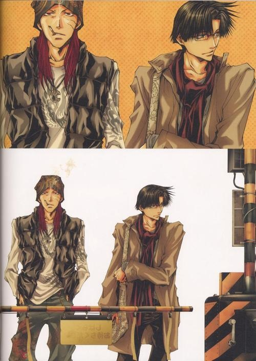 Saiyuki ~~ Eternally Together :: Gojyo and Hakkai