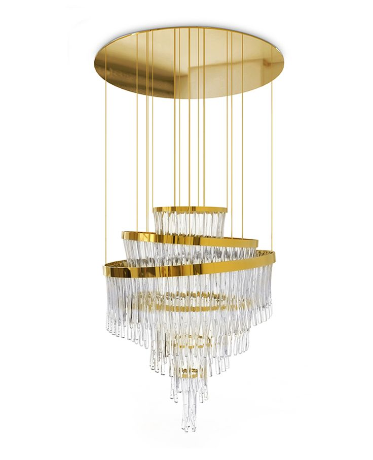 The gorgeous Babel chandelier has its inspiration in one of the most known myths: the Babel tower! Get inspired: www.luxxu.net | #lightingdesign #luxurylighting #interiordesign
