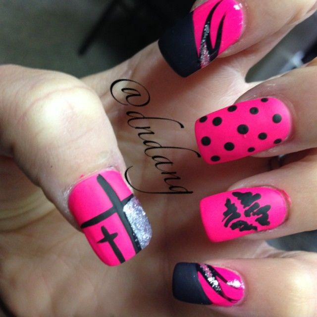 25+ Best Ideas About Pink Nails On Pinterest