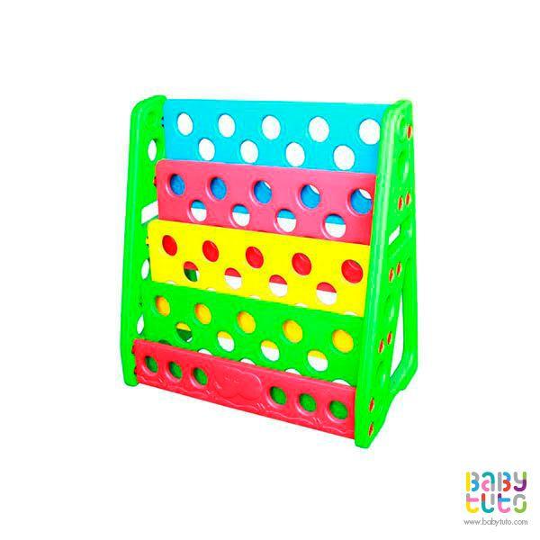 Librero plástico de colores, $44.990 (precio referencial). Marca Kidscool: http://bit.ly/1LA8cPH