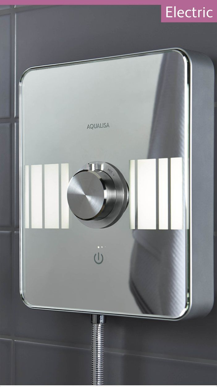 Aqualisa Lumi Electric | 10.5kW Electric Shower With Adjustable Head