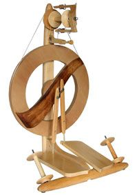 Fantasia Spinning Wheels by Kromski: Knits K Nelly, Spin Spindles Spin Wheels, Kromski Wheels, Fantasia Spin, Bags Knits, Spinning Wheels, Knits Pick, Kromski Fantasia, Beautiful Wheels