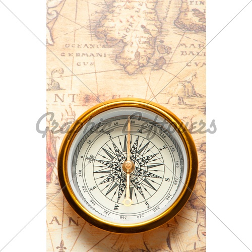 Compass. I want to evoke the sense of exploration found in early writings about the region.