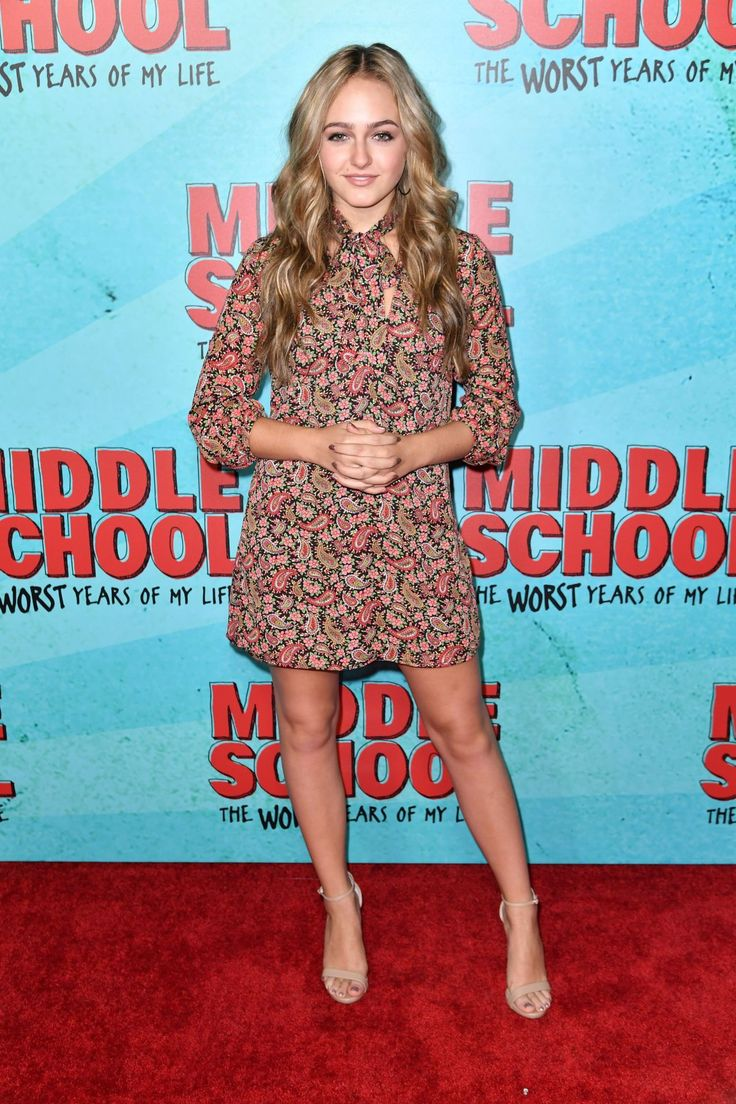Sophie Reynolds // Middle School, The Worst Years of My Life Premiere