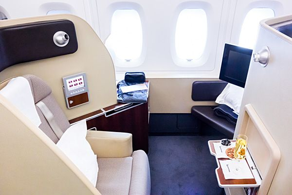 Qantas A380 First Class Suite 4A