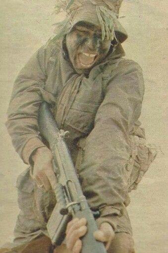 SADF Soldier, 1977 - Bayonet training