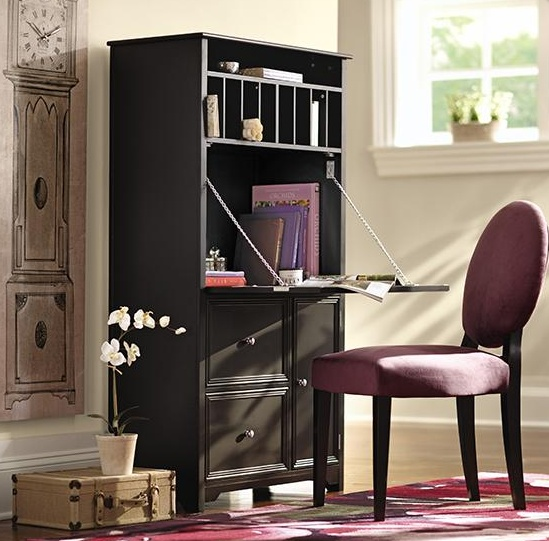 A Secretary Desk Can Add Workspace To Your Living Room