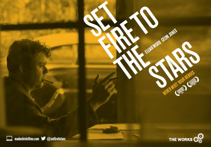 Teaser postcard for Set Fire to the Stars