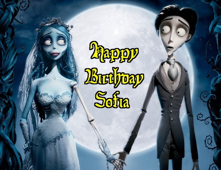 Corpse Bride Tim Burton Gothic Edible Image Photo Sugar Frosting Icing Cake Topper Sheet Personalized Custom Customized Birthday Party - 1/4 Sheet - 76529 *** Want additional info? Click on the image.