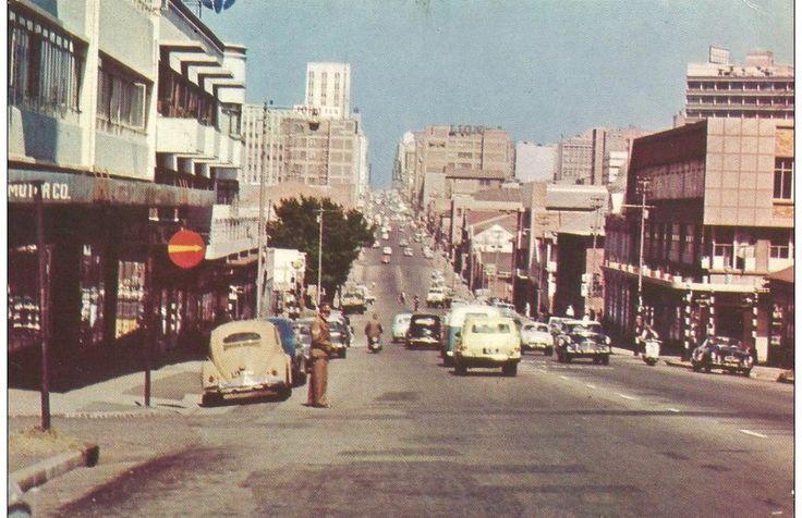 Commissioner Street Johannesburg 1969