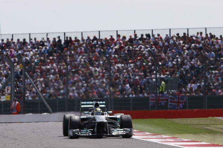 Formel 1 - MERCEDES AMG PETRONAS, Großer Preis von Großbritannien, Silverstone. 28.-30.06.2013. Nico Rosberg