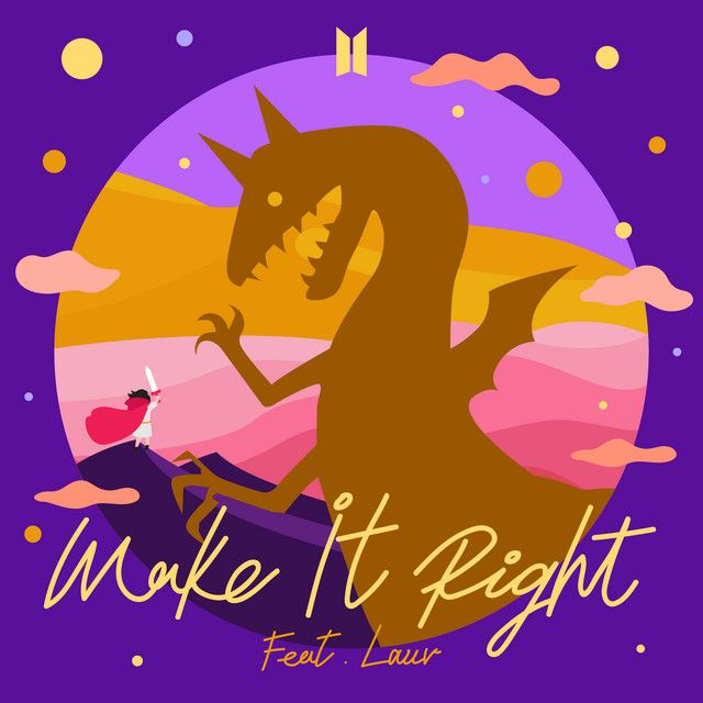 make it right feat lauv by bts lauv
