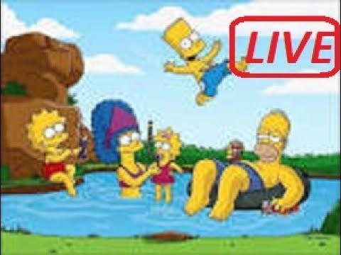 Los Simpson En Vivo - Los Mejores Capitulos 24Hrs - Español Latino HD