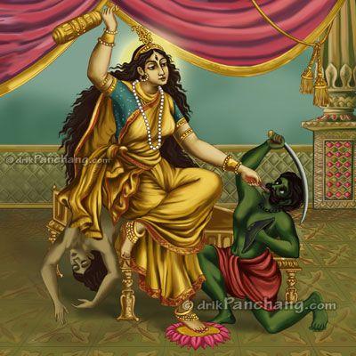 Goddess Bagalamukhi