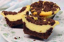 Vanillepudding – Muffins