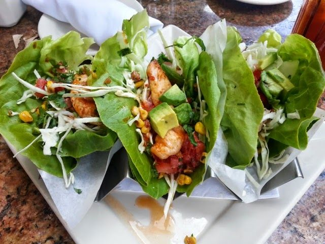 21 day fix meal idea. Mexican Chicken Lettuce wraps.