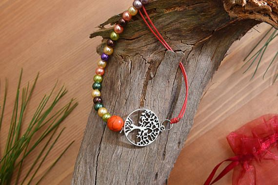 Check out this item in my Etsy shop https://www.etsy.com/listing/513142032/colorful-beaded-waxed-string-necklace