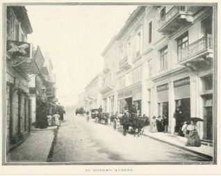 Old Athens Photos Ermou Street. Back to Old Athens Photos 1896