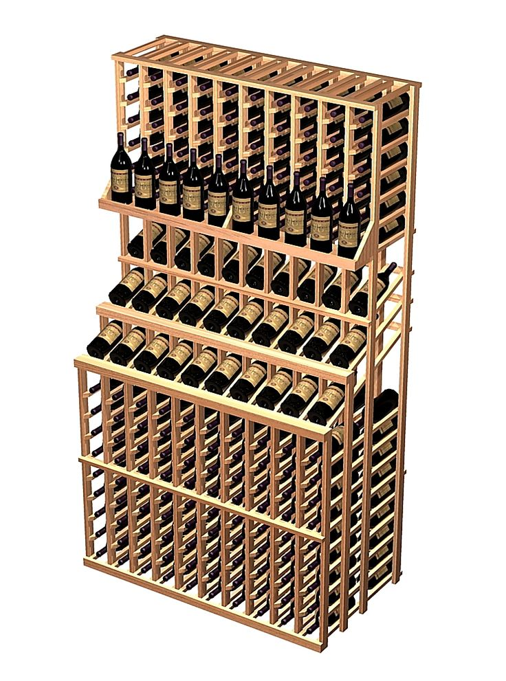Creative wine rack inspiration with wood plans