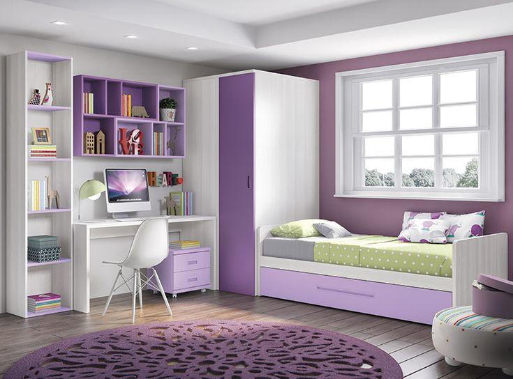Catálogo de Dormitorios juveniles