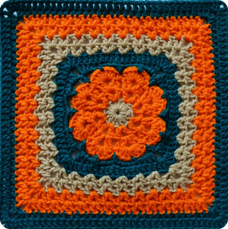 "More V's Please | 12"" Crochet Square"