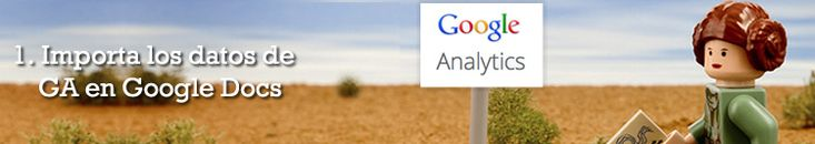 Importa los datos de Google Analytics a Google Docs
