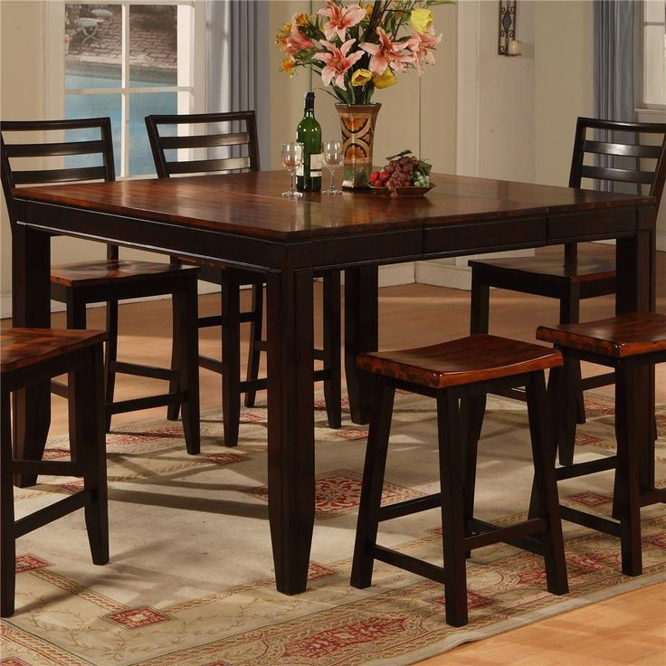 Table Is Ideal For An Entertainment Room Basement Area Or Other Casual Dining And
