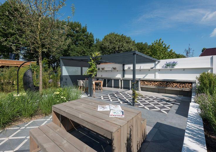60 best portfolio binnen buitentuin met vtwonen buitentegels images on pinterest outdoor - Buitentuin ontwerp ...
