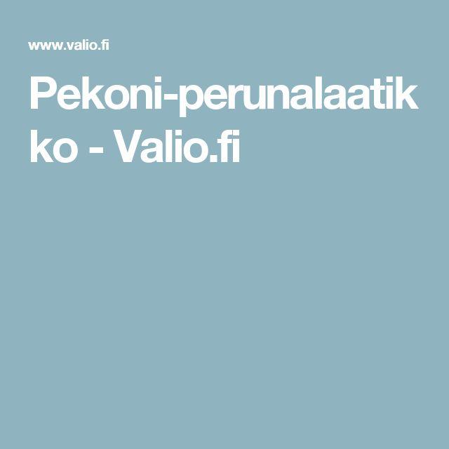 Pekoni-perunalaatikko - Valio.fi