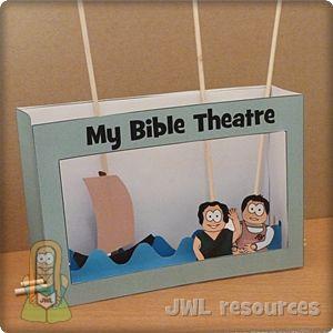 Si quieres aprender, ENSEÑA.: Mi Biblia TEATRO