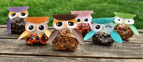 Didi @ Relief Society: Cute Owl treat bag - ideas for anytime!