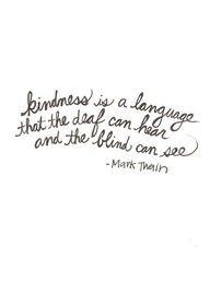 be kind...always