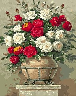 MaHuaf-X692 peony flowers picture paint on canvas diy digital oil painting by numbers home decoration craft gift 40x50 framed #Affiliate